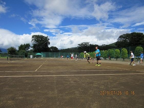 硬式テニス部 夏合宿