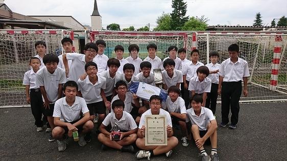 東京都私学大会で中学チームが準優勝