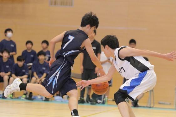 令和元年度 港区中学校バスケットボール新人大会  準優勝
