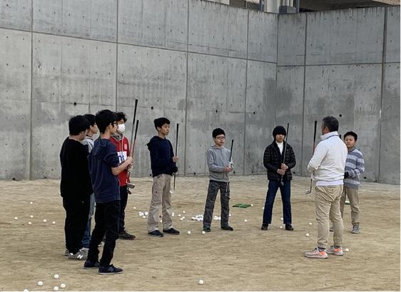 学校内練習!