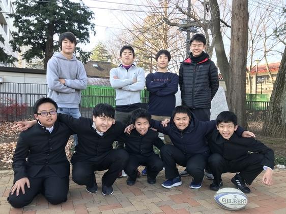 1月13日ラグビー部中学新人戦