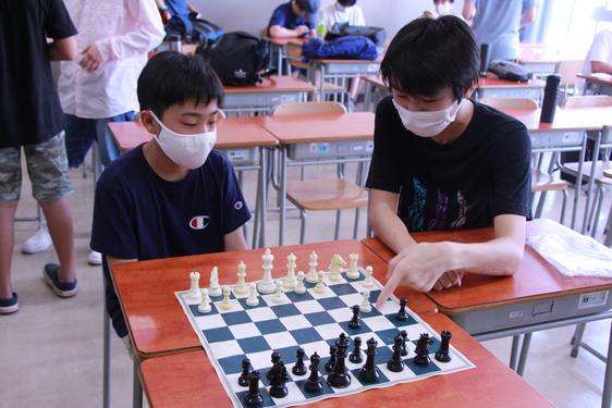 チェス部の2020年夏休み中の活動
