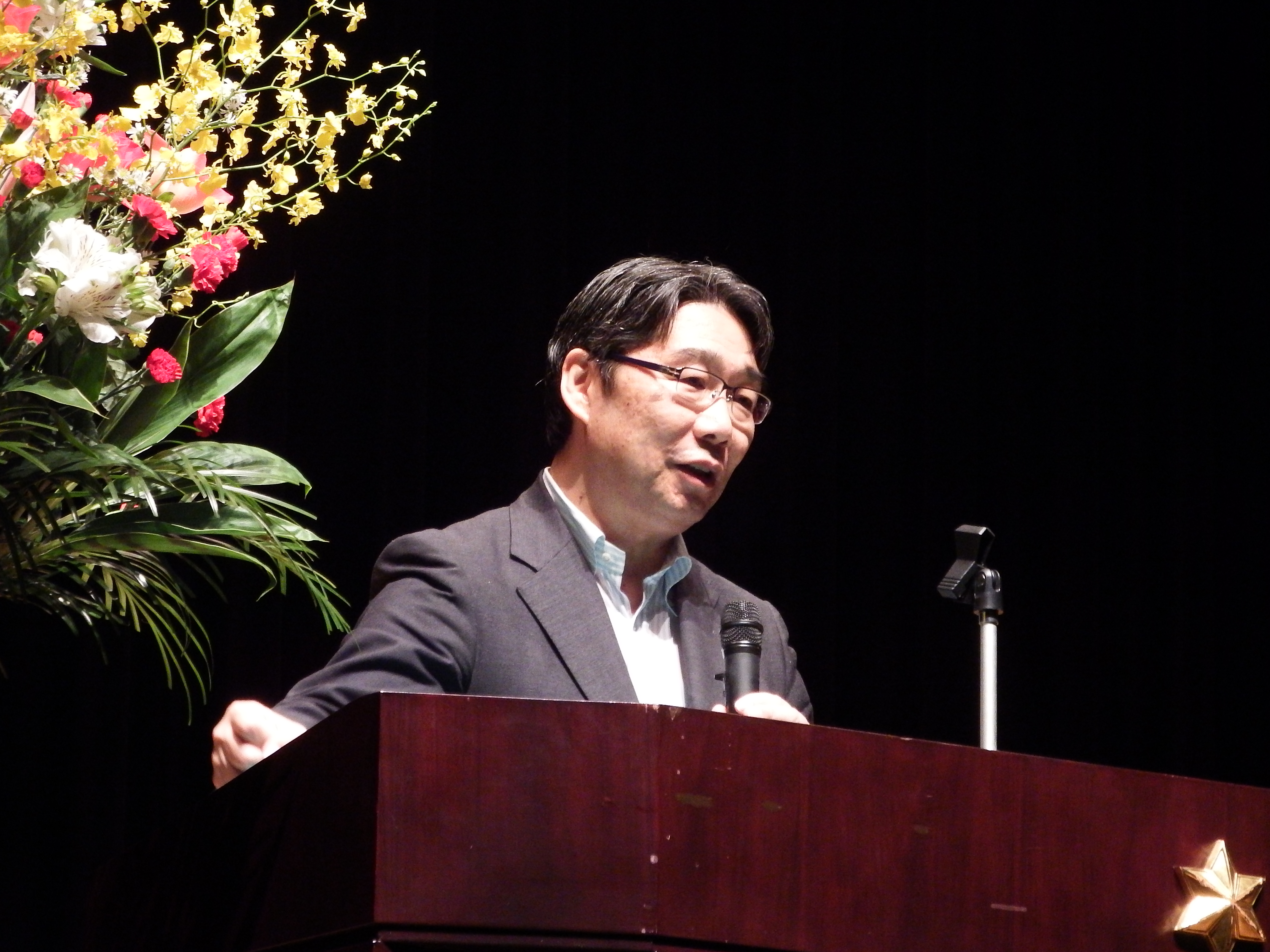 前川喜平氏講演会 「生徒諸君に寄せる」