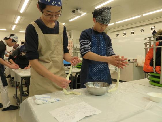 2019年度中1世界 3学期課外学習(中央アジア料理)