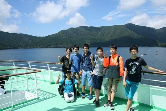 中学1年3組クラス旅行