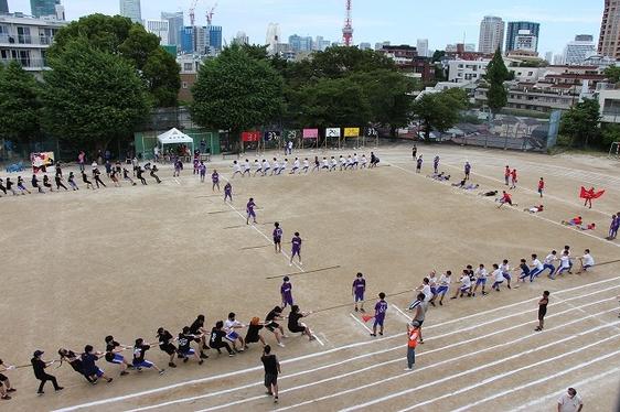 運動会 高校生競技